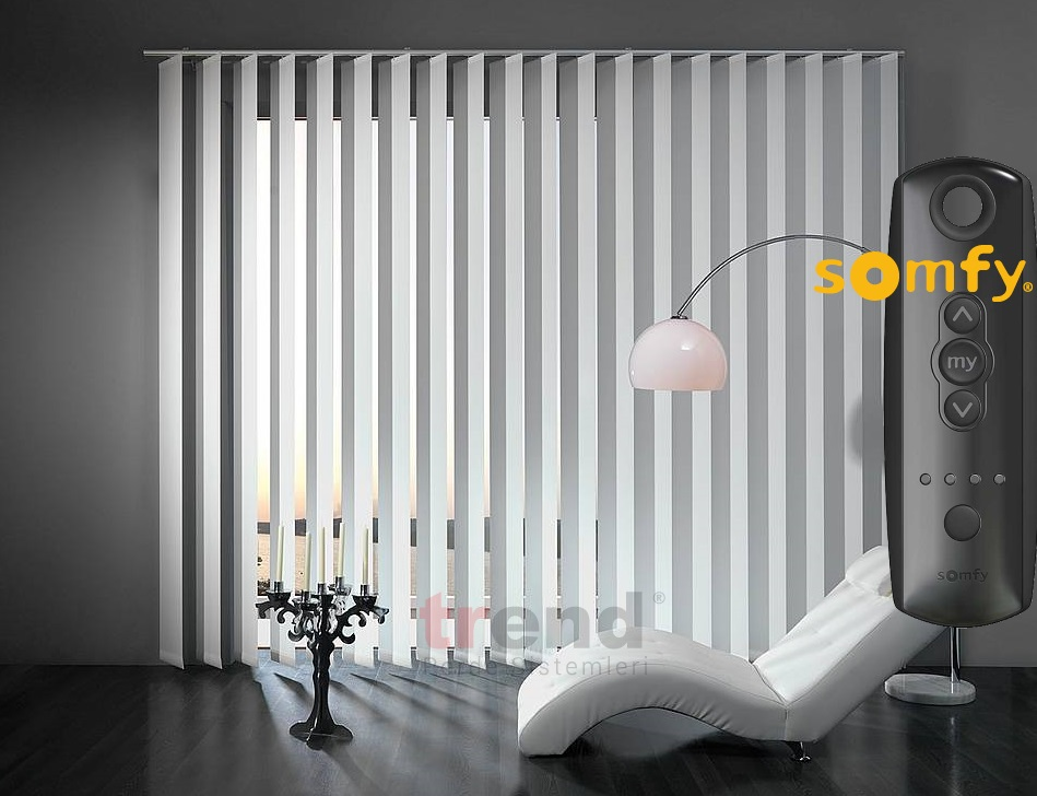 Stage curtains fabric - Trend Perde Sistemleri Vertical Blinds