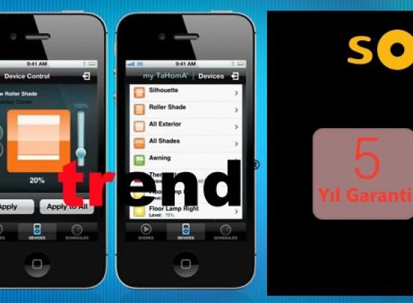 Somfy® Iphone/Android Uygulaması