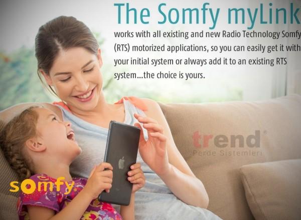 Somfy Mylink – Tablet ve Telefondan Perde Kontrolü