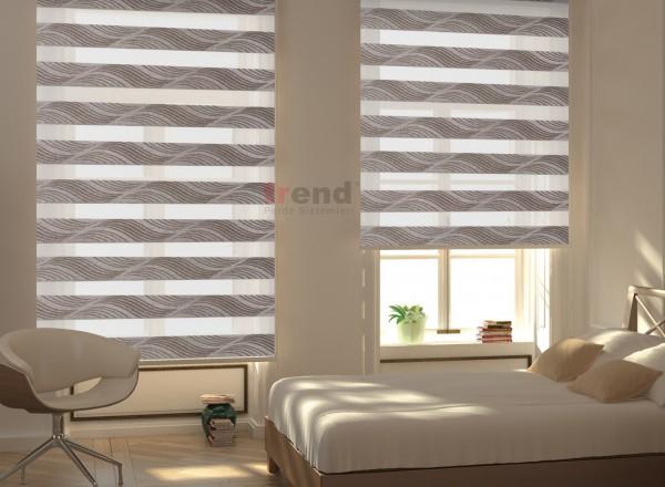 Zebra Perde Yatak Odası