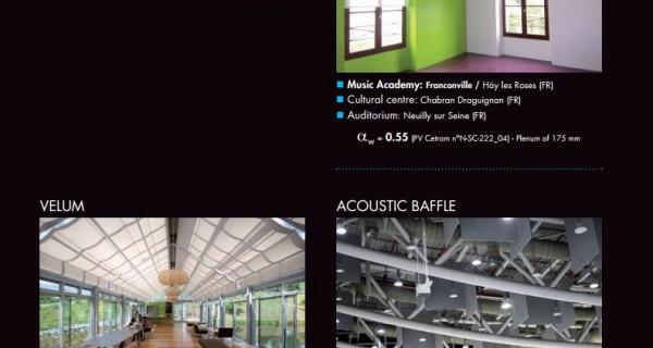 Akustik Perde Uygulamaları