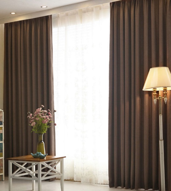 Hotel Sheer And Night Curtain